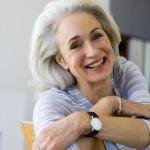 Satisfied Older Woman